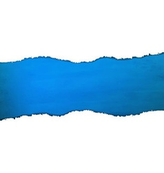 Blue Texture With Torn Paper vector