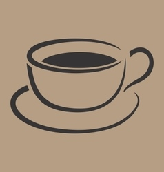 Coffee Cup Simple vector