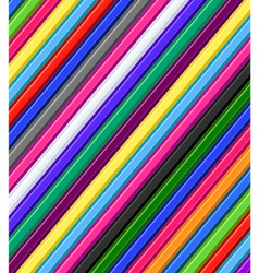 Colored pencils background vector image