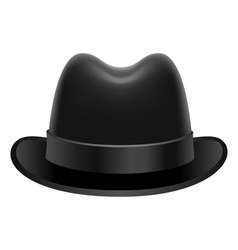Homburg hat vector
