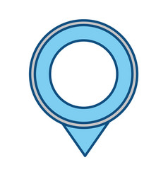 Map pointer symbol vector