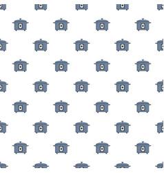 Pressure cooker pattern seamless vector