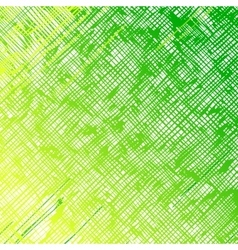 Straight diagonal green lines on a white vector