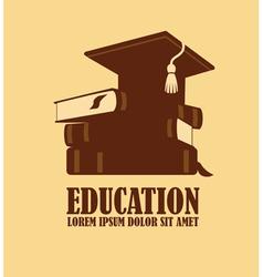 Education logo design vector image vector image
