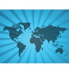 world map1 vector image