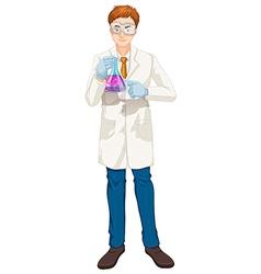A chemist vector