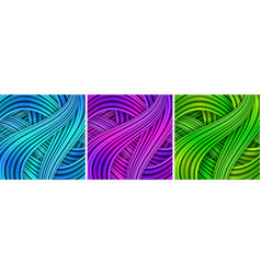 colorful striped backgrounds striped background vector image