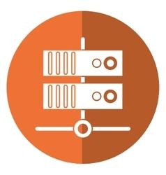Data base technology server system shadow vector