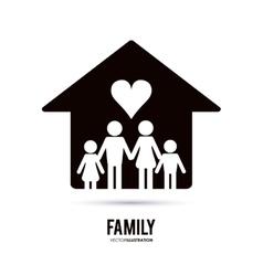 Family icon design vector
