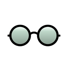 Glasses icon Simple isolated symbol vector