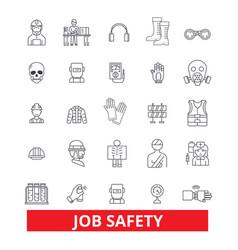 Job safety assurance immunity security vector