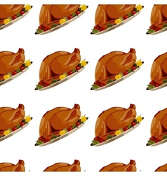 Roast Turkey vector image