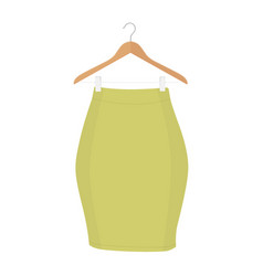 Skirt template collection design fashion woman vector