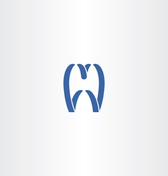 Tooth logo symbol icon vector