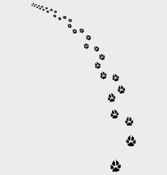 Trail dogs vector