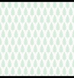 creative leaf pattern background design vector image vector image