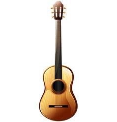 A classical guitar vector image
