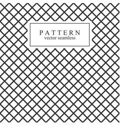 grid seamless geometric pattern vector image vector image