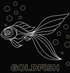 Goldfish Logo vector