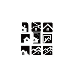 home house real estate vector image