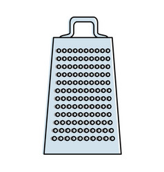 kitchen grater isolated icon vector image