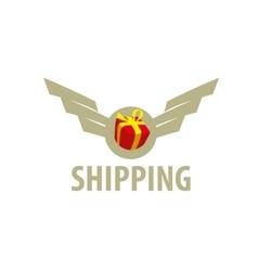 logo delivery vector image vector image