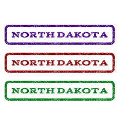 North dakota watermark stamp vector