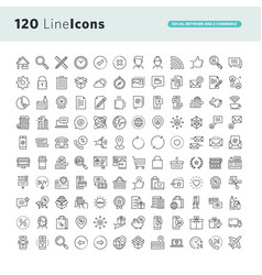 Set premium concept icons vector