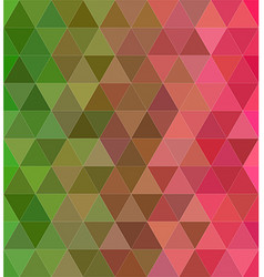 Abstract triangle tile mosaic background design vector image vector image
