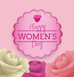 Womens day vector