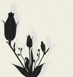 rose illustration vector image vector image