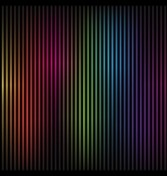 colorful rainbow lines vector image