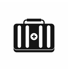 First aid kit icon simple style vector image vector image