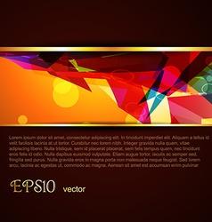 Beautiful template vector