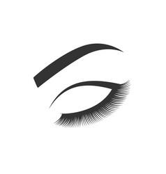 beauty salon card vector image