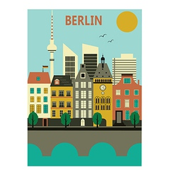 Berlin city vector