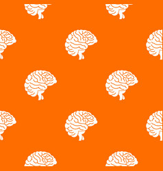 brain pattern seamless vector image