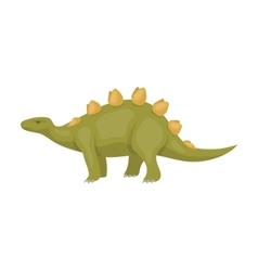 Dinosaur Stegosaurus icon in cartoon style vector image
