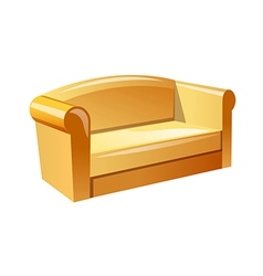 Icon sofa vector
