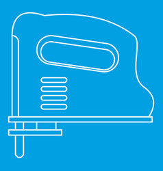 Pneumatic gun icon outline vector