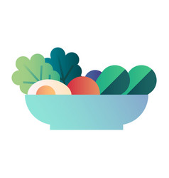 Salad gradient vector