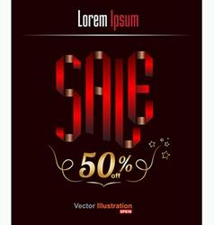 Sale 50 vector