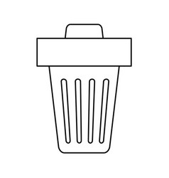 Trash can delete vector
