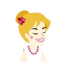 User woman icon vector