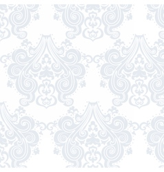 Vintage Damask swirl flower pattern vector image