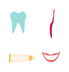 Dentist instruments set vector image