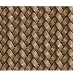basket weaving vector image vector image