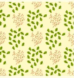 cartoon fresh kiwi fruits slice flat style vector image