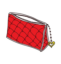 A pouch is placed vector