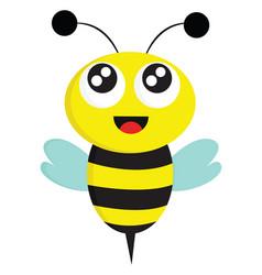 bee color vector image